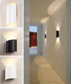 Modern Glossy Up & Down Wall Light