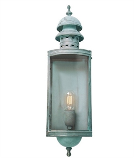 Period Exterior or Interior Lantern - Two Finishes