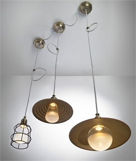 Vintage Shades for LED Flex or Wall Light