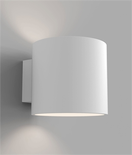 Plaster Up and Down Bedside Wall Light