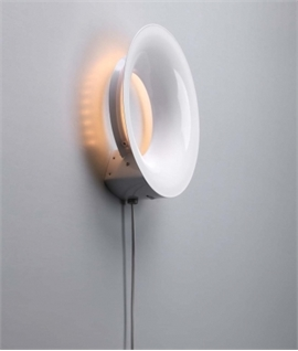 LED Round Wall Light with Dimmer Dial