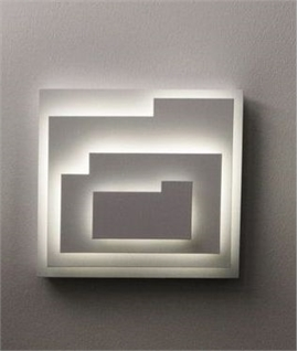 Pieced Together Wall Light with LED
