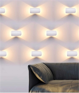 Adjustable LED Wall Light - Up & Down Light