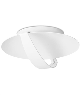 LED White Flush Mounted Aluminium Light