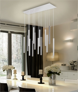 LED Tubular Pendant - 11 or 14 Light Option