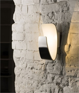 Stylish Curved LED Wall Light