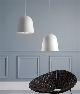 White Can Can The Decorative Pendant by Flos
