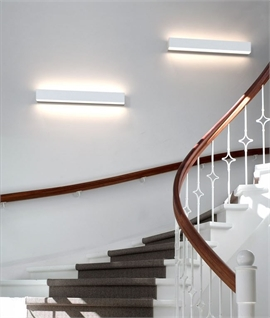 Linear Dual LED Wall Light - Linkable, Splashproof & Stylish