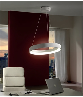 Uber Modern Single Circle LED Pendant