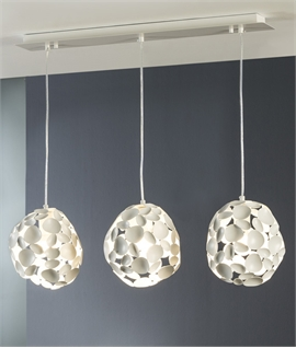 Multi-Reflective 3 Light Pendant