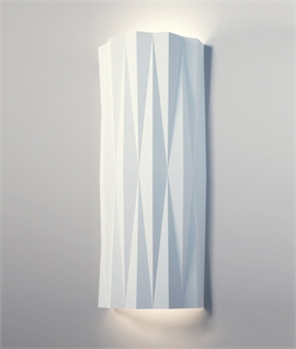 Plaster Wall Light Cristallographie H:410mm