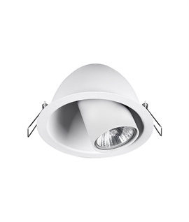 Swivel Spotlight - Recessed For A Cleaner Ceiling