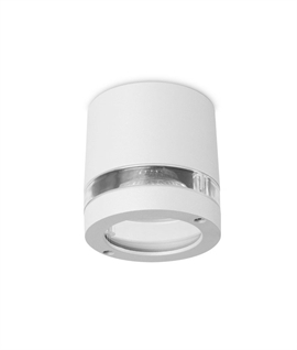 IP54 Rated Surface Mounted Downlight inc 2 Diffusers