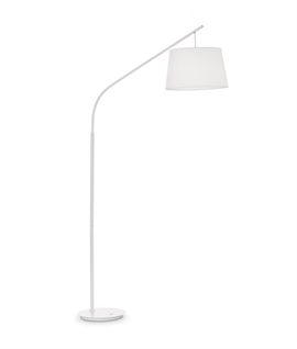 Long Reach Tall Floor Lamp with Shade