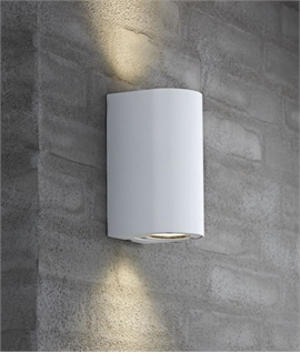 Exterior GU10 Base Wall Light - 5 Finishes