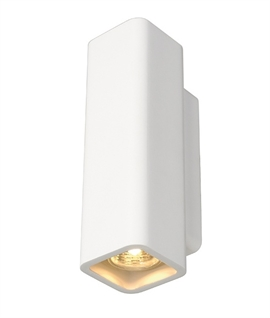 Slim Up & Down Plaster Wall Light
