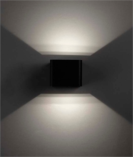 LED Wall Light - Adjustable Fan Effect