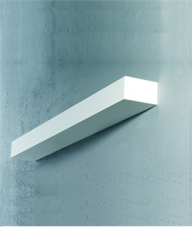 ... Edge Wide Plaster Wall Up Light - 3 Widths & Wall Uplights up-lighters u0026 indirect wall lights | Lighting Styles azcodes.com