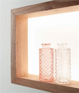Wooden Window Frame Shelf Light - Integrated LED