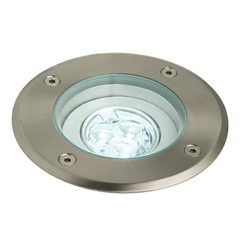 Recessed Ground Light - 3 Superbright LEDs