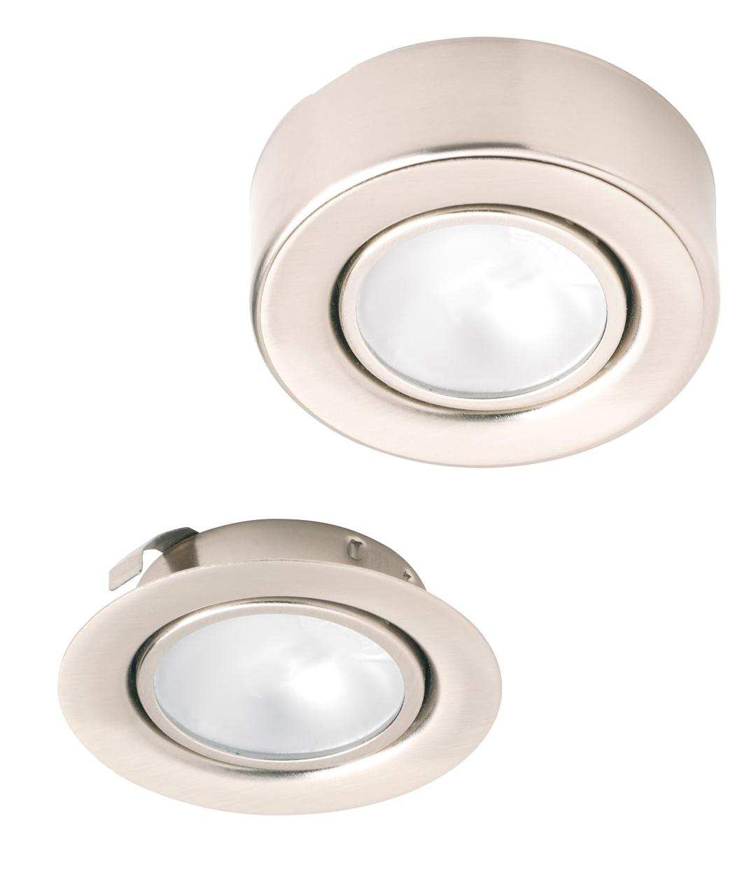 Kitchen Under Cabinet Light Unit Cupboard Glass Square Halogen White 20w 12v G4