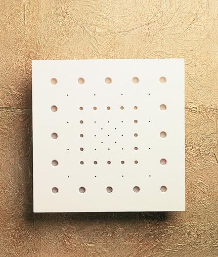 dot design wall light medium square 350mm. Black Bedroom Furniture Sets. Home Design Ideas