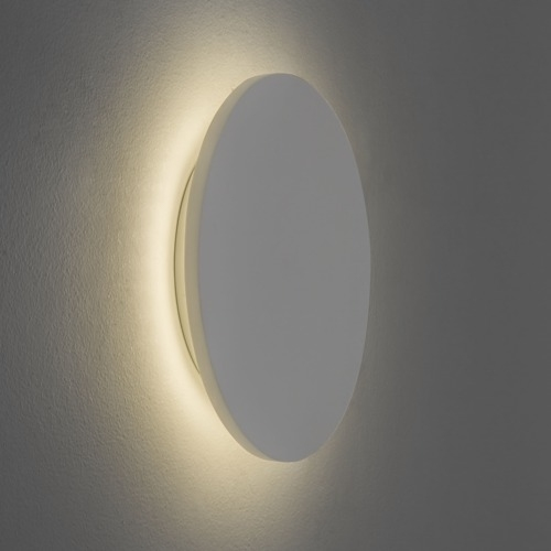 Backlit Plaster Wall Lights Subtle And Glare Free