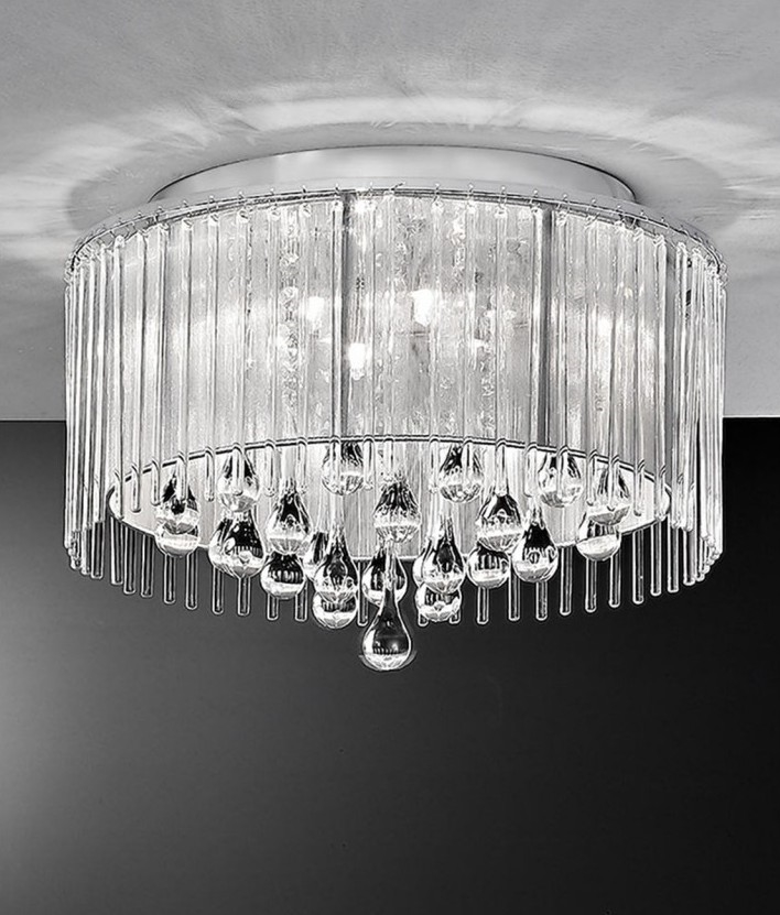 how to create a crystal ceiling display