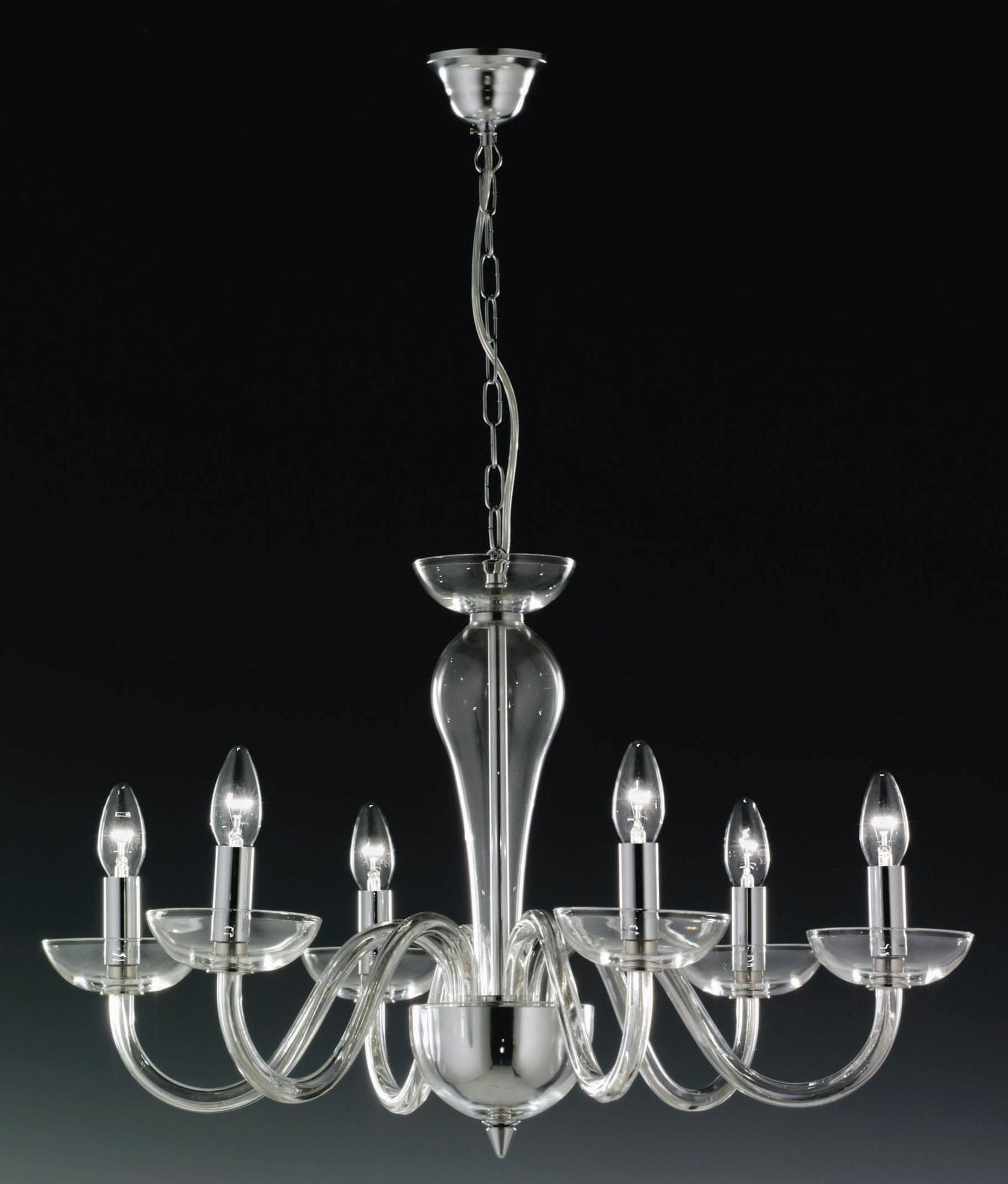 Ghost lead crystal chandelier aloadofball Image collections