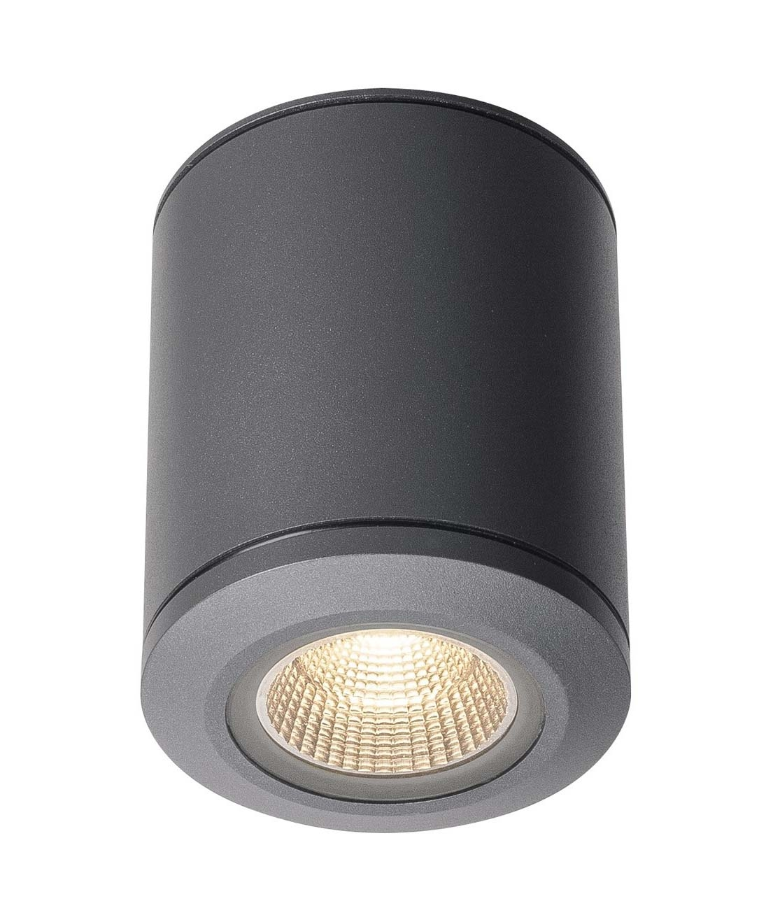 Lhigh Output Surface Mounted Downlight Ip44 Finished In