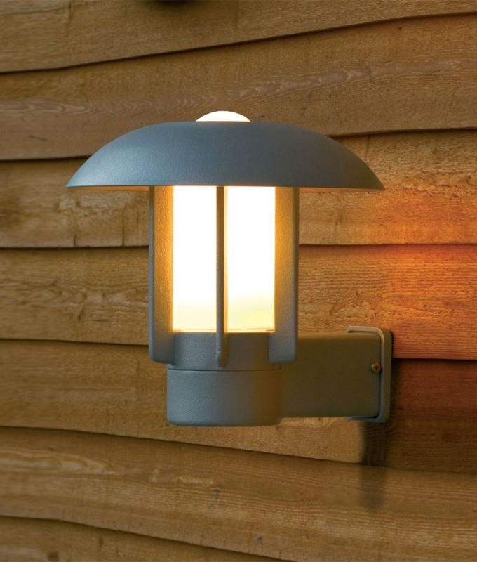 Modern Exterior Wall Lantern Upward Facing
