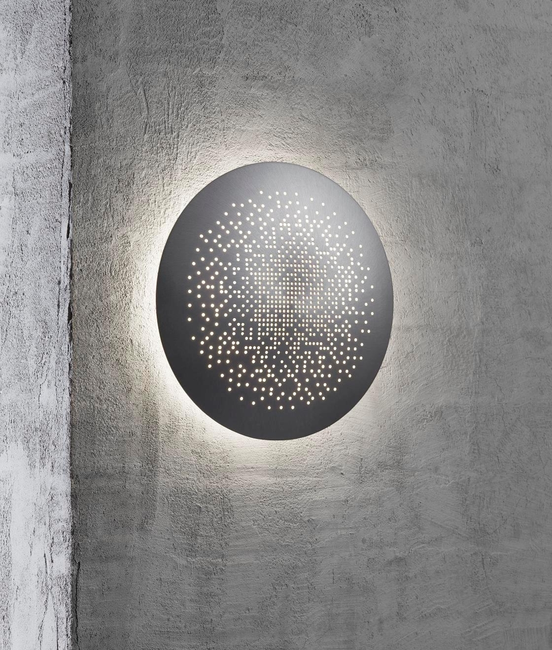 Spherical Eclipse Ip44 Rated Wall Light 3 Finishes Amp 2 Sizes