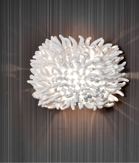 Funky Wall Lights >> Contemporary Anemone Wall Light