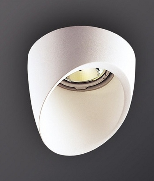 Plaster Angled Cut Recessed Downlight Ring