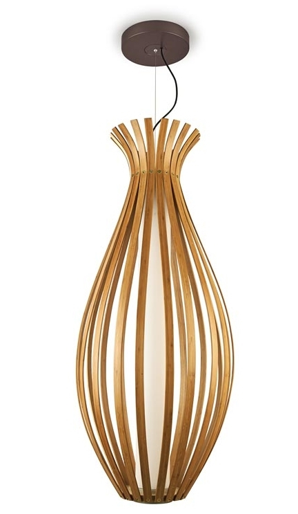 Bamboo Feature Pendant Height 1200mm