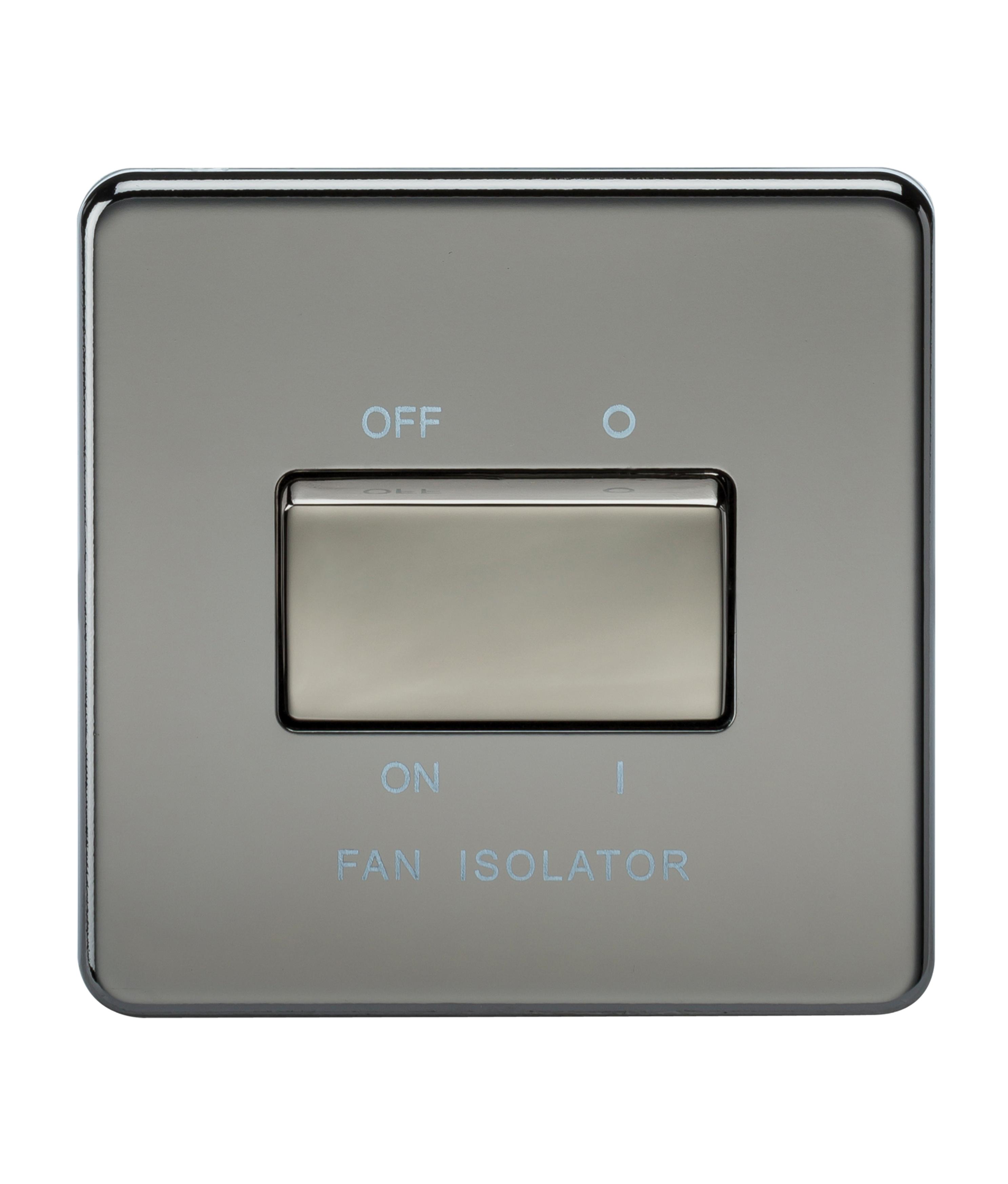 Bathroom Fan Isolator Switch