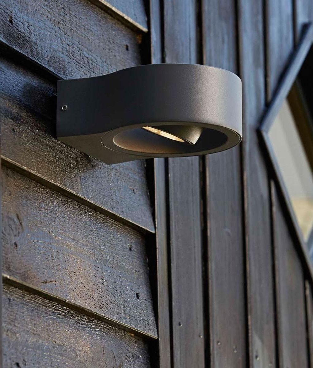 Outdoor round recessed wall lights outdoor lighting ideas for Round exterior lights