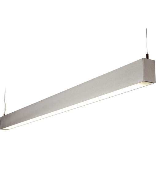 Suspended Linear Light With Direct And Indirect Light
