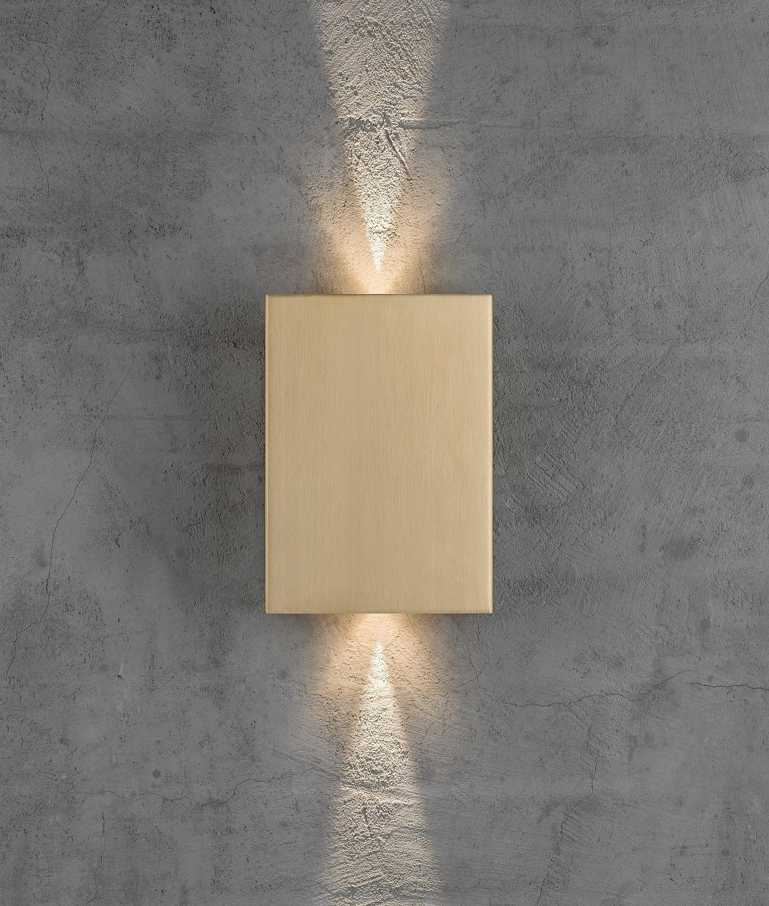 This Funky Up Down Wall Light Is Supplied With An