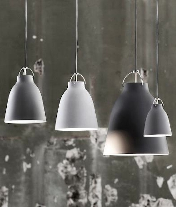 Lightyears Caravaggio Light Grey Matt Pendants