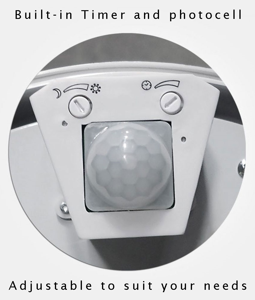 Energy Saving Drum Light Fixture With Pir Movement Detector