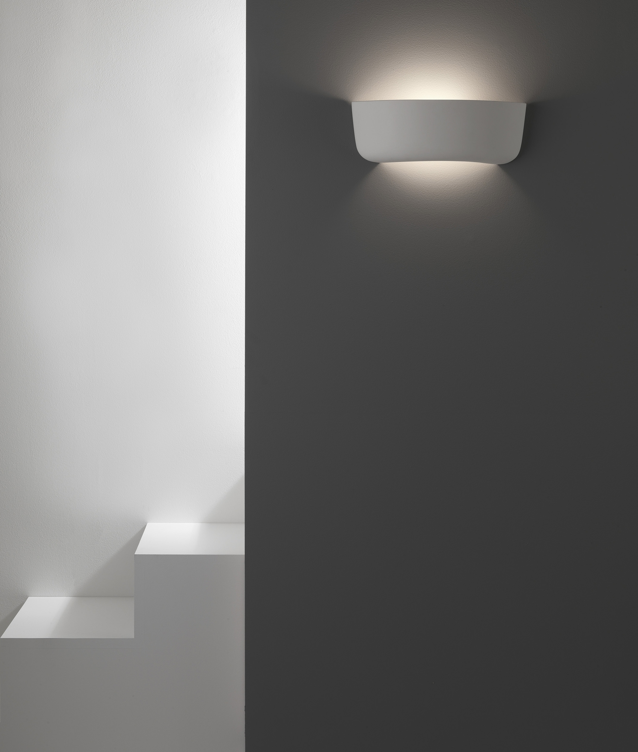 Plaster Curve Wall Washing Light