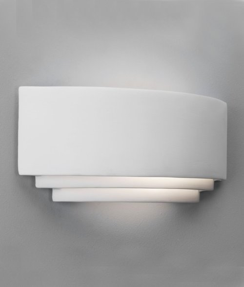 Screwfix Ceramic Wall Lights : Ceramic Wall Light - Low Energy W:370mm