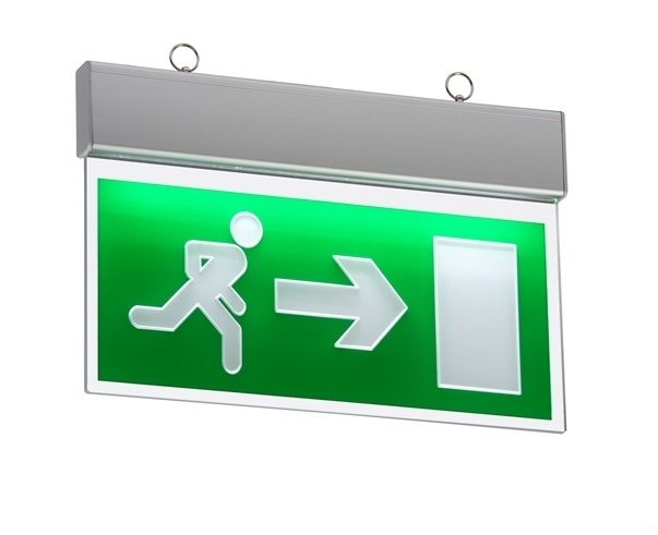 Famous Ceiling Mounted Emergency Exit Sign - LED MG04