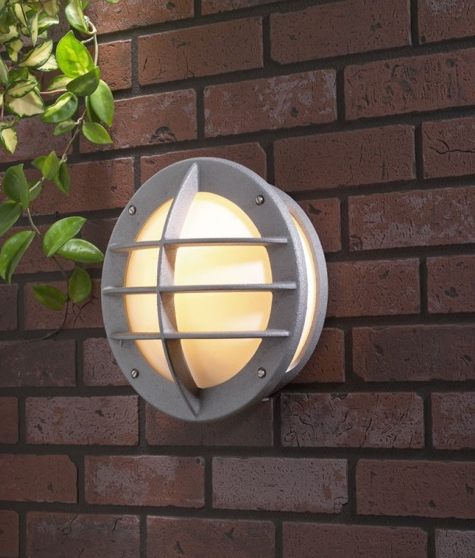 Exterior High Grade Bulkhead Light Lozenge Or Round