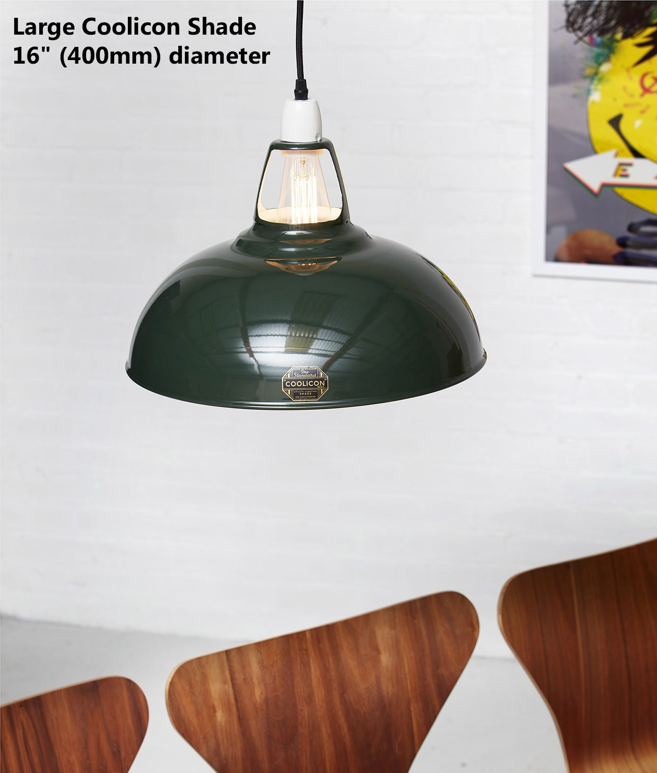 Original coolicon enamel steel lampshades earth colours coolicon enamel steel lamp shades earth colours mozeypictures Choice Image