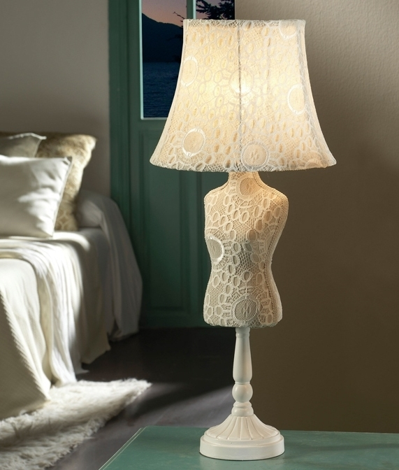 Mannequin Table Lamp In Two Designs