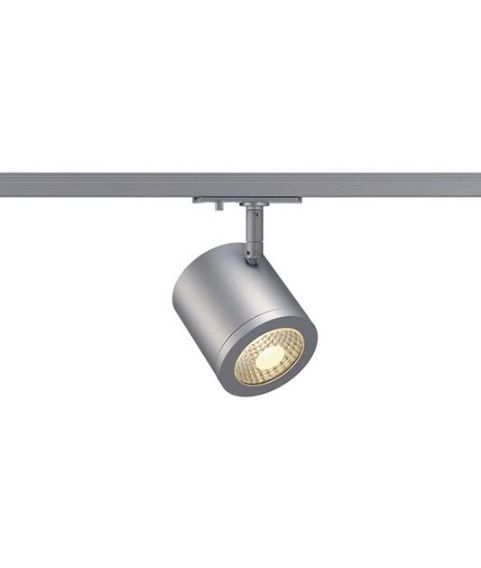 tubular spotlight for single circuit track. Black Bedroom Furniture Sets. Home Design Ideas