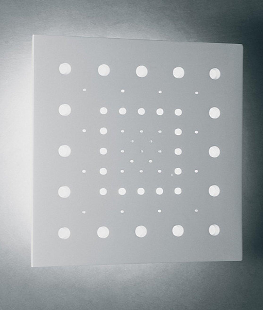 dot design wall light large 500mm square. Black Bedroom Furniture Sets. Home Design Ideas