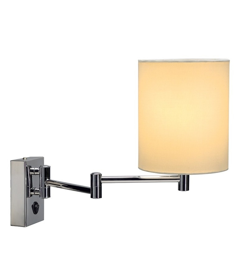 Wall Lights Extendable : Traditional Extendable Wall Lamp with Shade